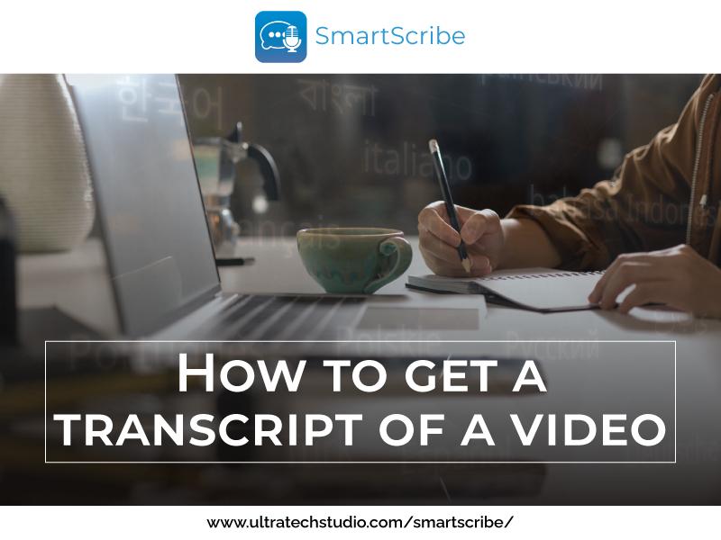 How to get video transcription